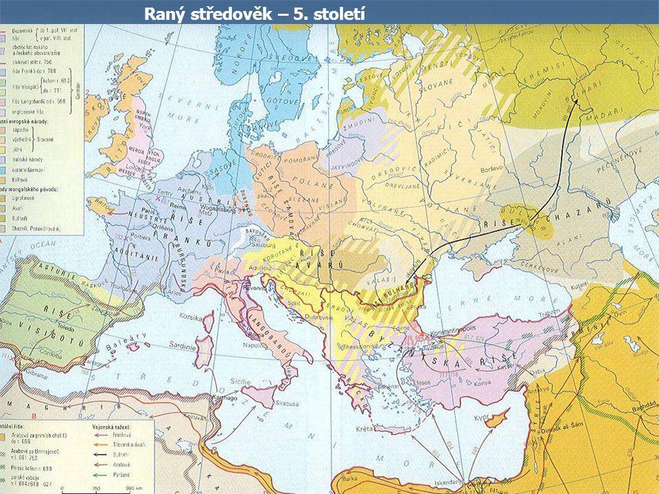 Raný středověk – 5. století