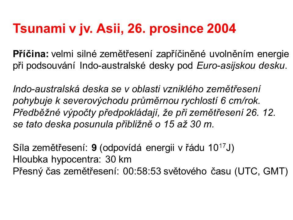 Tsunami v jv. Asii, 26. prosince 2004