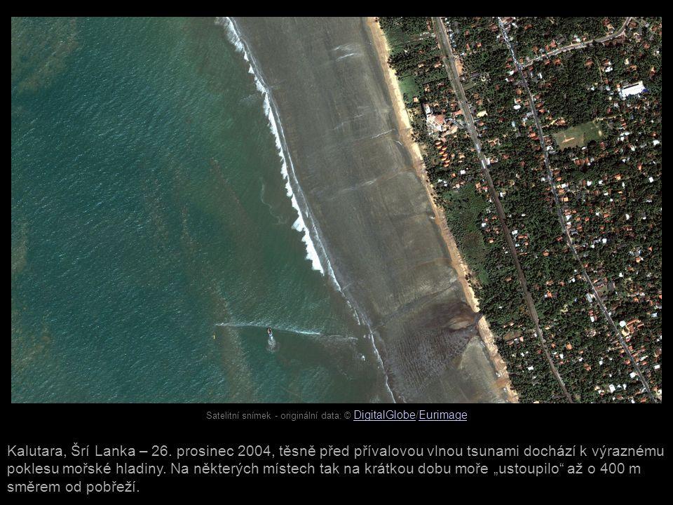 Satelitní snímek - originální data: © DigitalGlobe/Eurimage