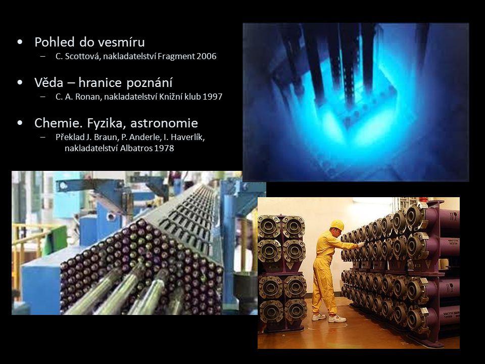 Chemie. Fyzika, astronomie