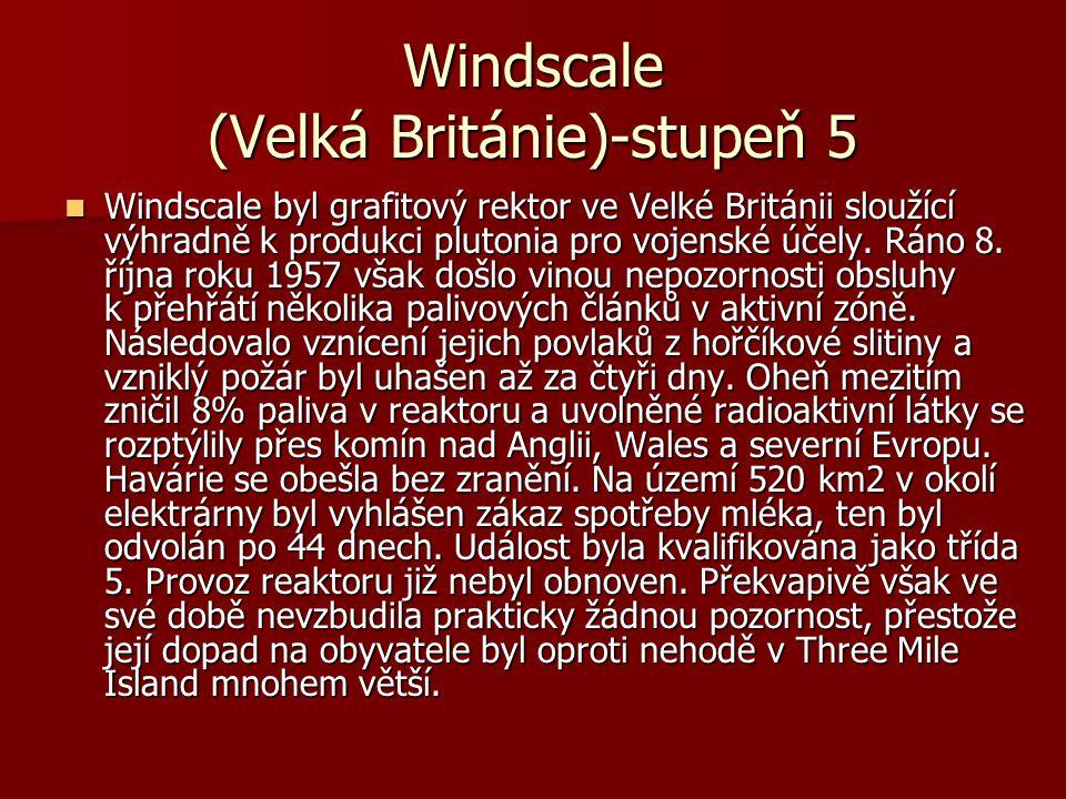 Windscale (Velká Británie)-stupeň 5