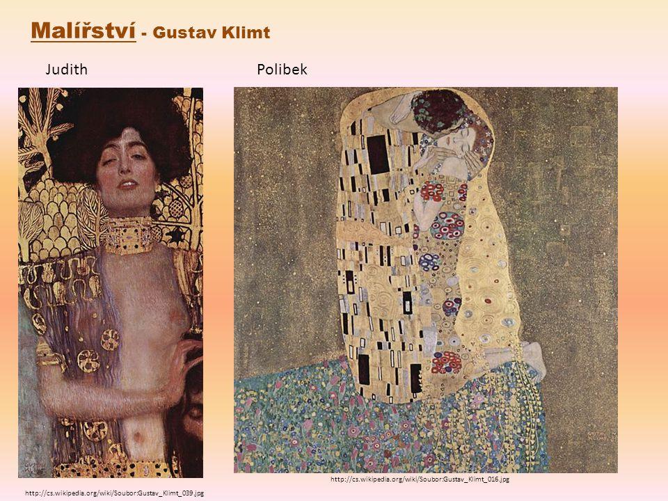 Malířství - Gustav Klimt