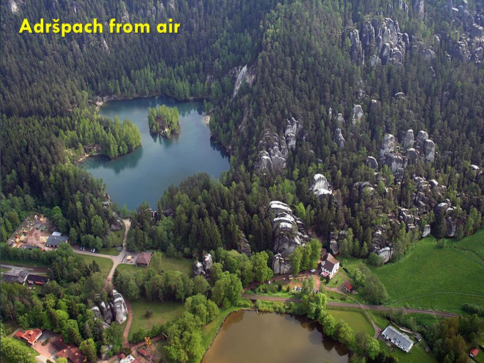 Adršpach from air http://cs.wikipedia.org/wiki/Soubor:Adr%C5%A1pach_from_air_3.jpg