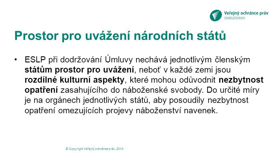 Prostor pro uvážení národních států