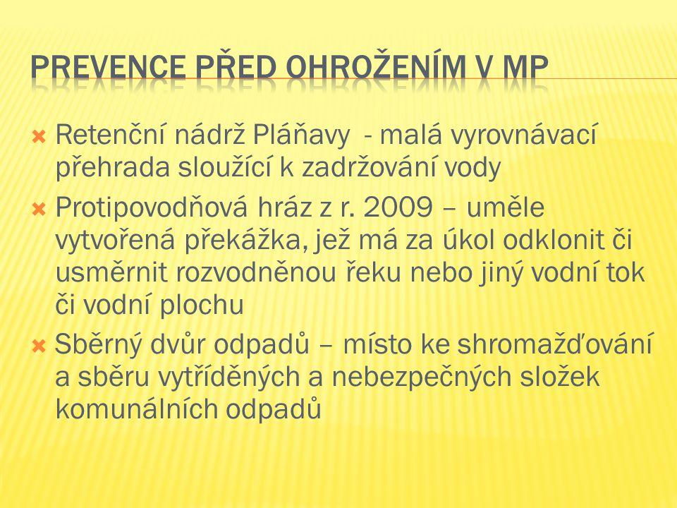 Prevence před ohrožením v MP