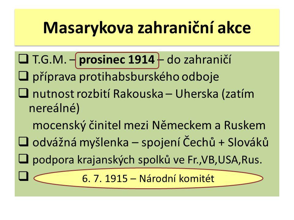 Masarykova zahraniční akce