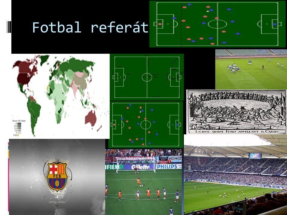 Fotbal referát