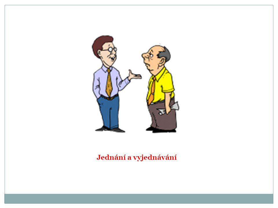 Jednání a vyjednávání