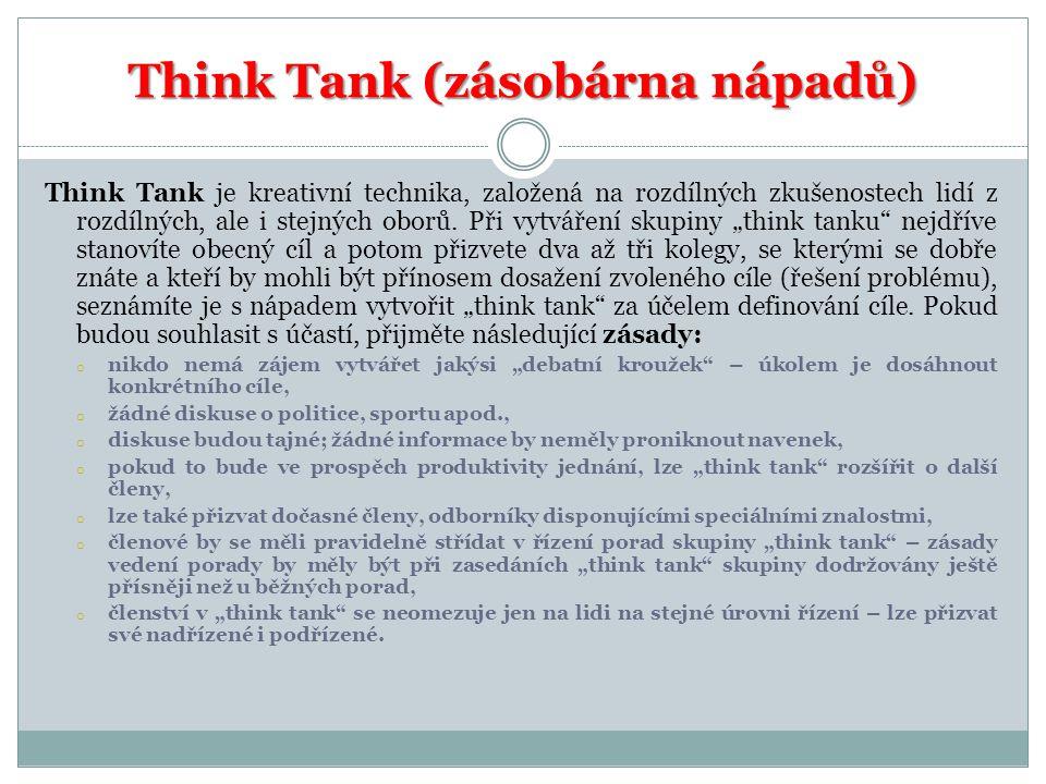 Think Tank (zásobárna nápadů)
