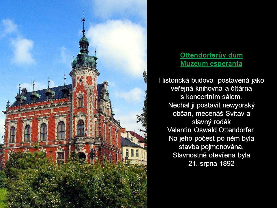 Ottendorferův dům Muzeum esperanta