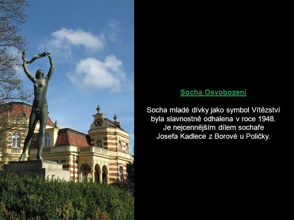 Je nejcennějším dílem sochaře Josefa Kadlece z Borové u Poličky.