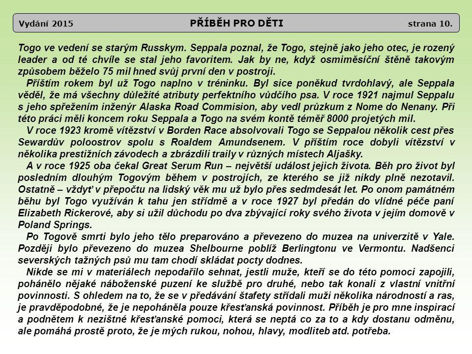 Vydání 2015 PŘÍBĚH PRO DĚTI strana 10.