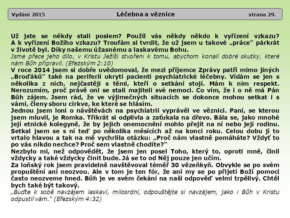 Vydání 2015 Léčebna a věznice strana 29.