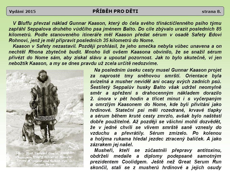 Vydání 2015 PŘÍBĚH PRO DĚTI strana 8.