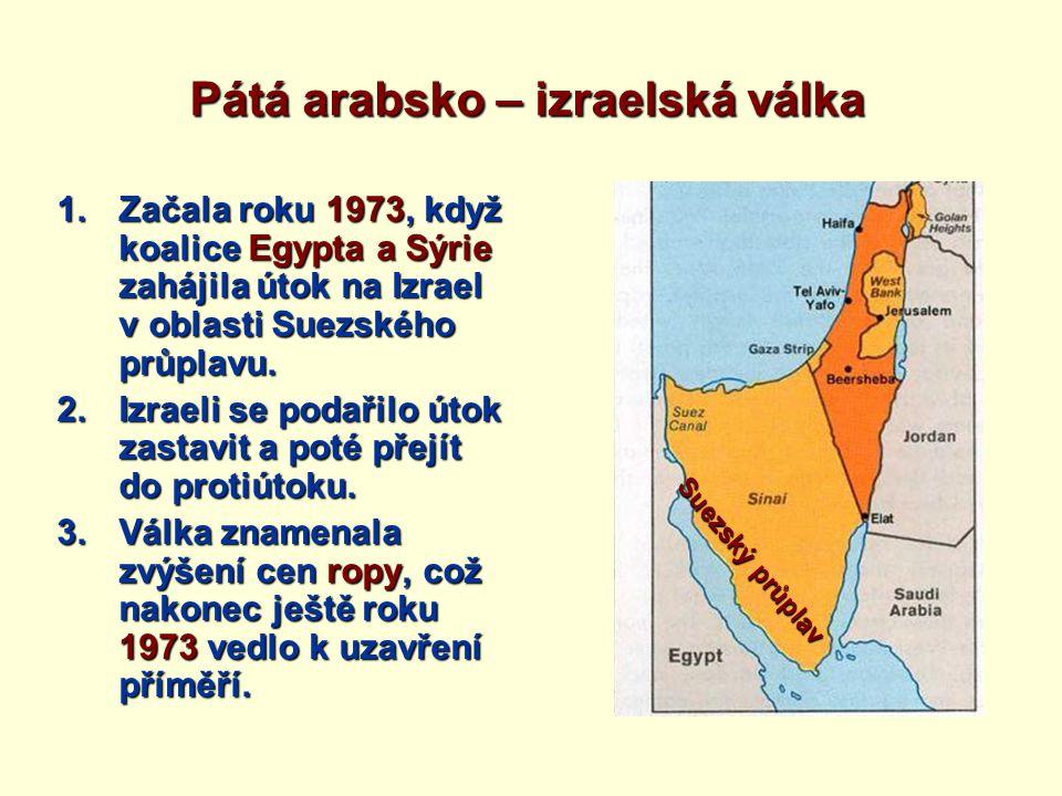 Pátá arabsko – izraelská válka