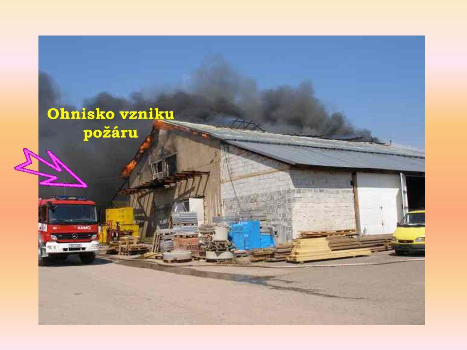 Ohnisko vzniku požáru