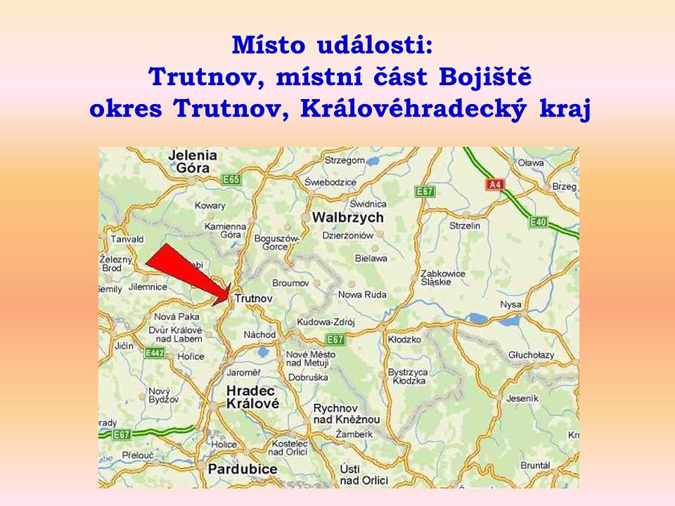 Trutnov, místní část Bojiště okres Trutnov, Královéhradecký kraj
