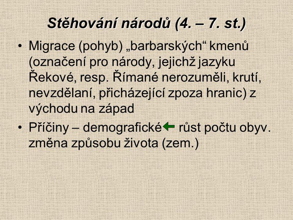 Stěhování národů (4. – 7. st.)