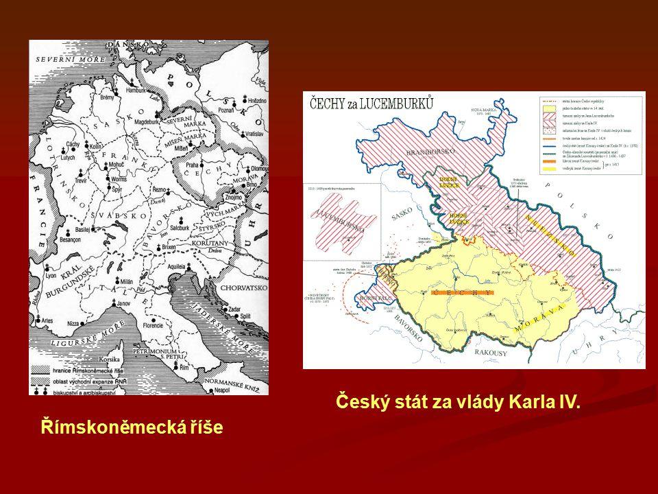 Český stát za vlády Karla IV.