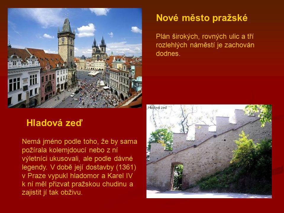 Nové město pražské Hladová zeď