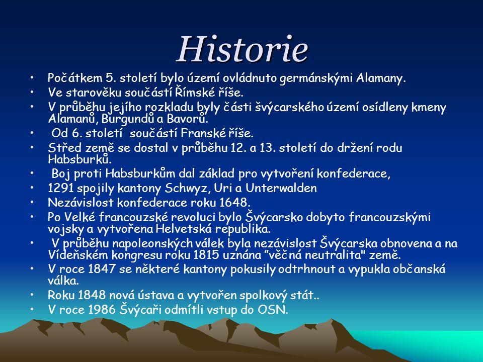 Historie Počátkem 5. století bylo území ovládnuto germánskými Alamany.