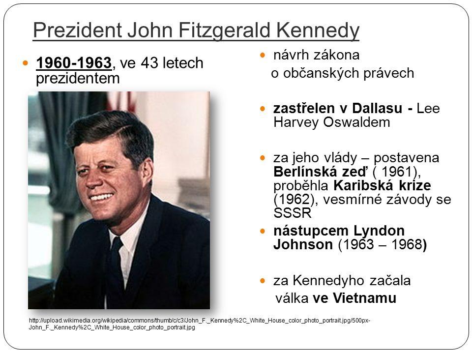 Prezident John Fitzgerald Kennedy