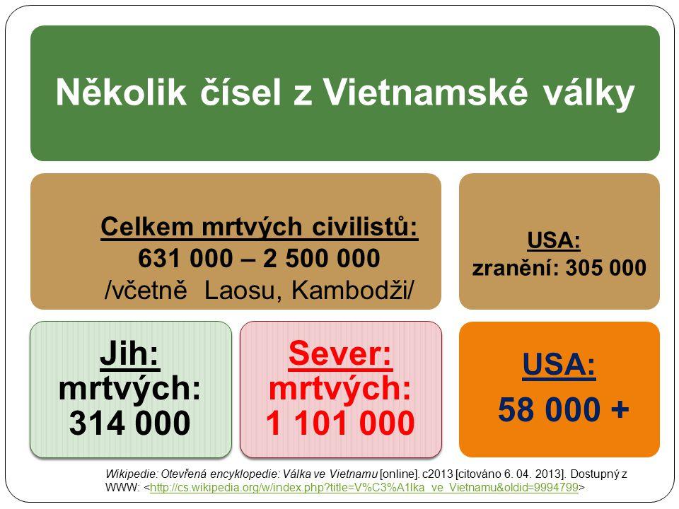 Několik čísel z Vietnamské války