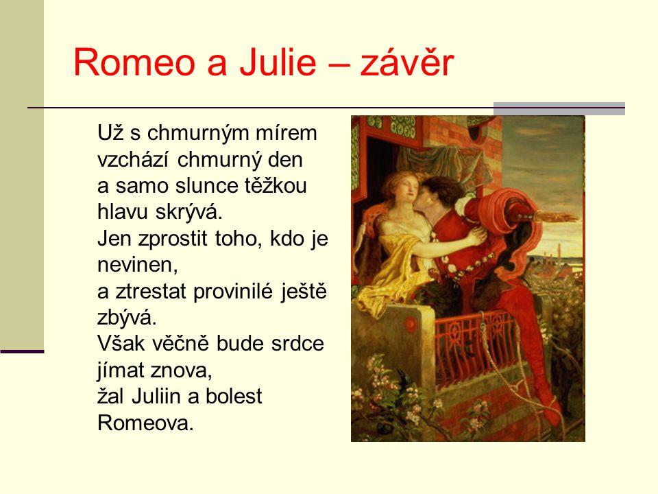 Romeo a Julie – závěr