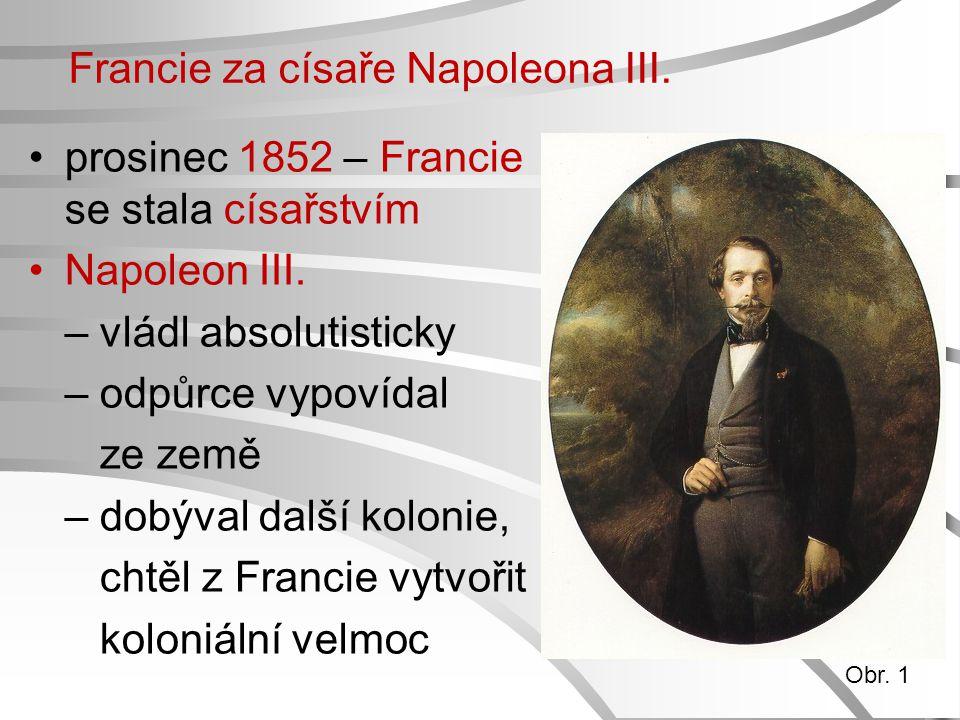 Francie za císaře Napoleona III.