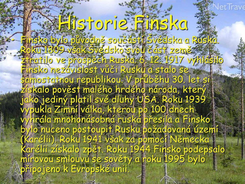 Historie Finska