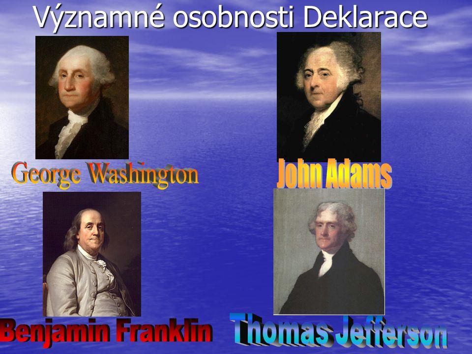 Významné osobnosti Deklarace