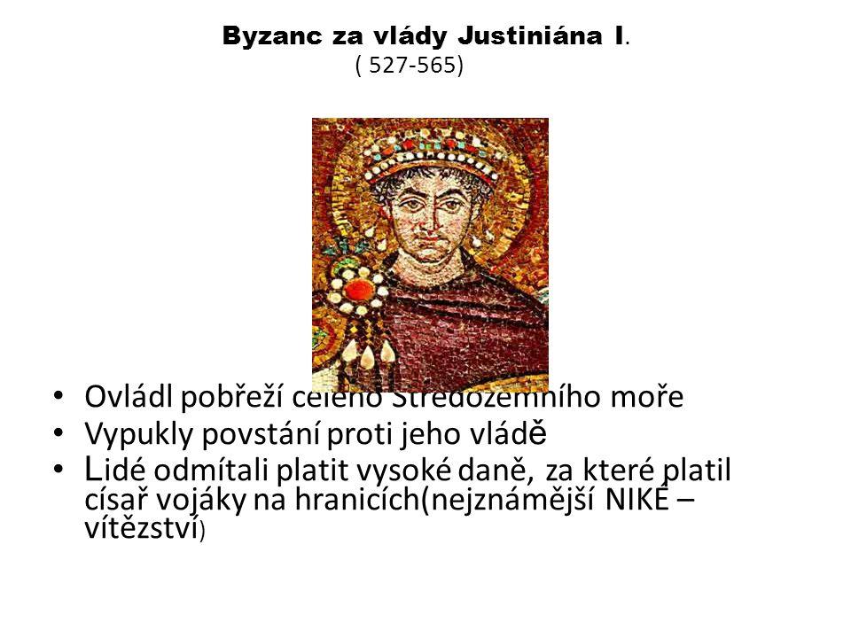 Byzanc za vlády Justiniána I.
