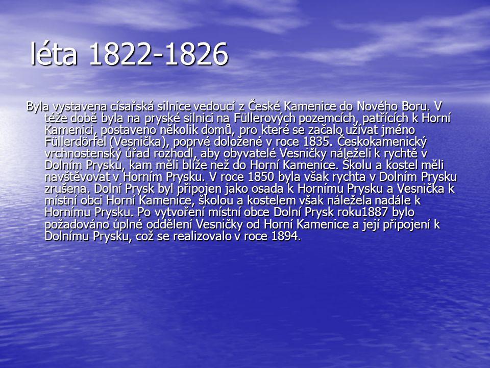 léta 1822-1826