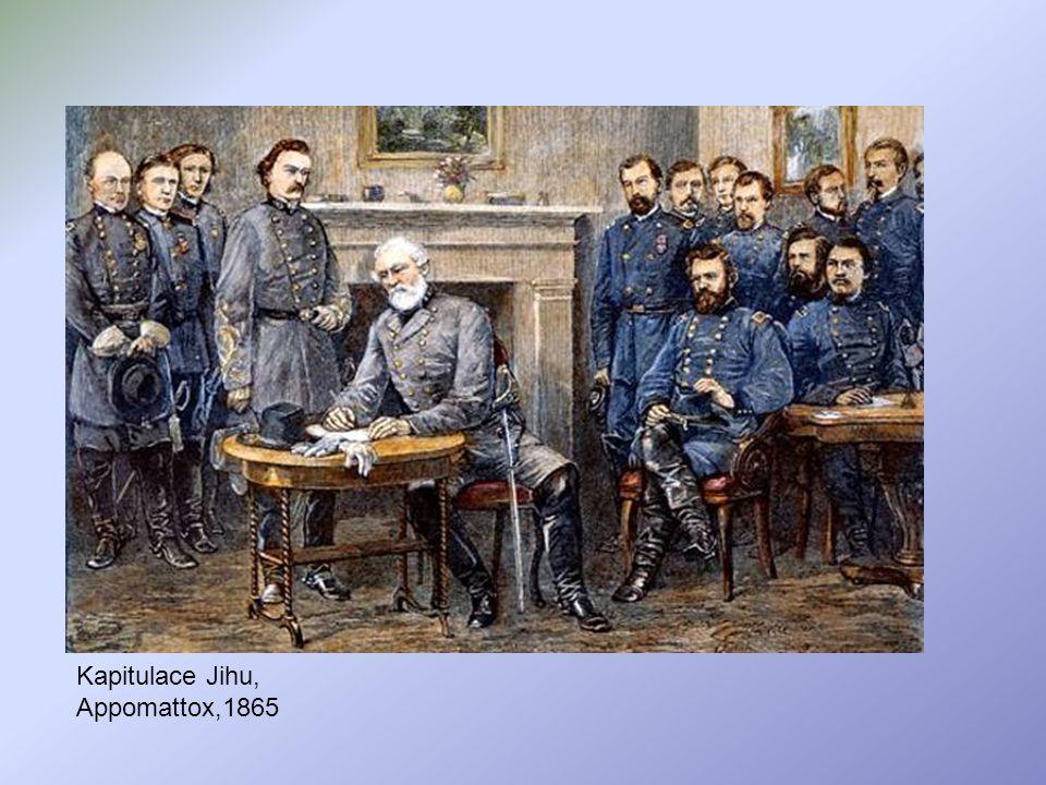 Kapitulace Jihu, Appomattox,1865