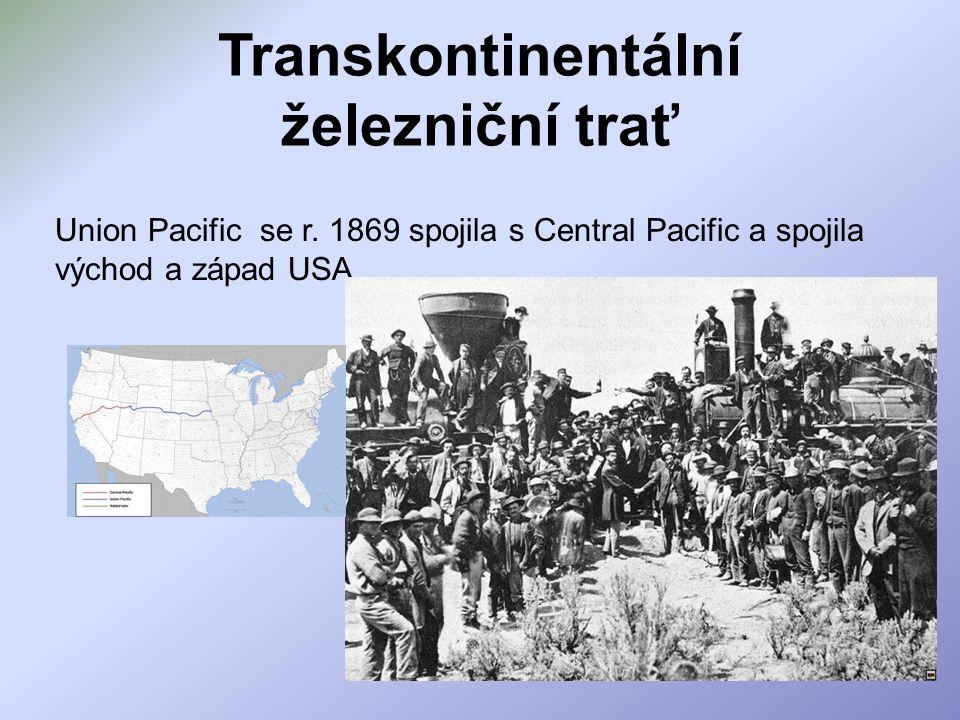 Transkontinentální železniční trať