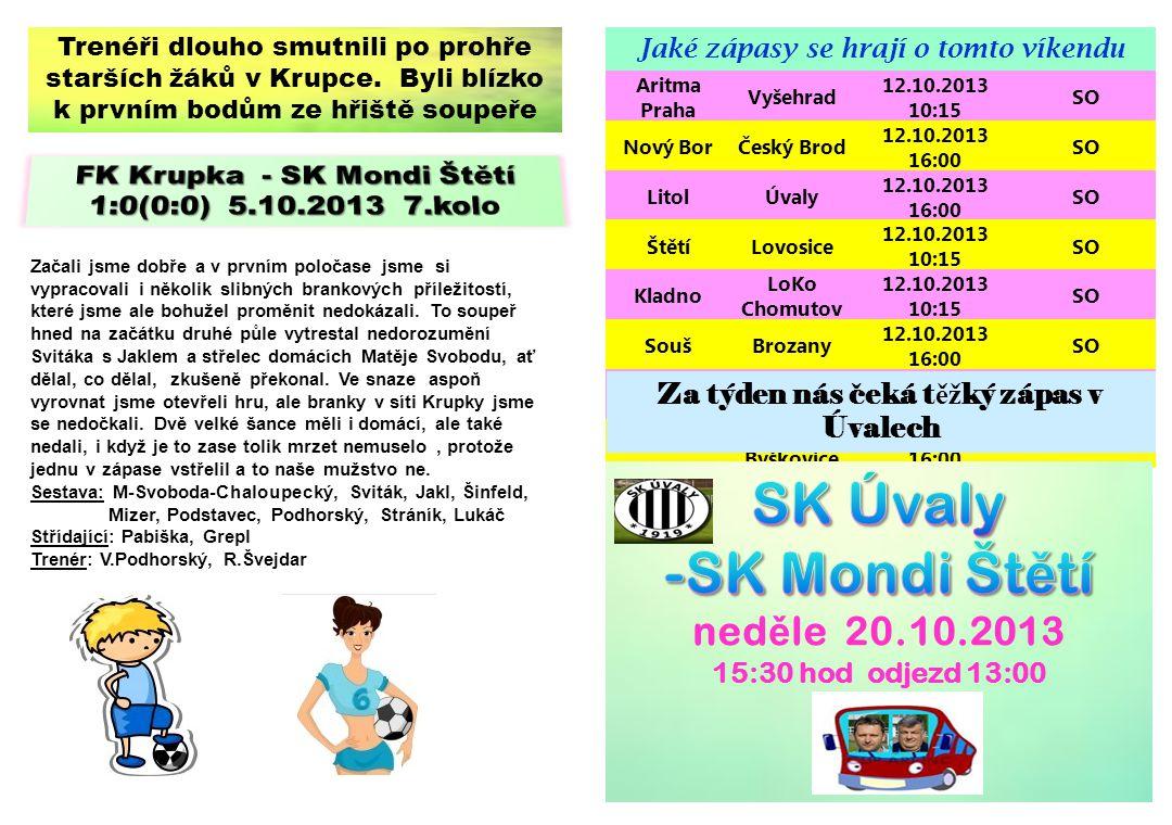 SK Úvaly -SK Mondi Štětí