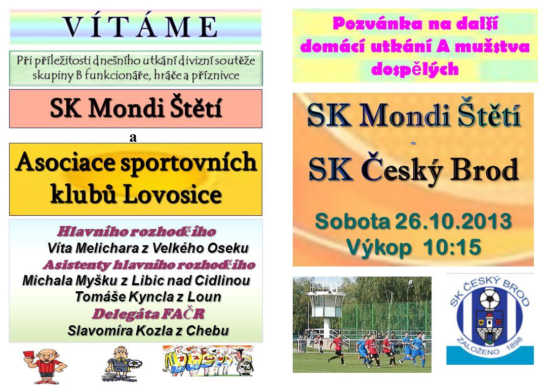 SK Mondi Štětí SK Český Brod