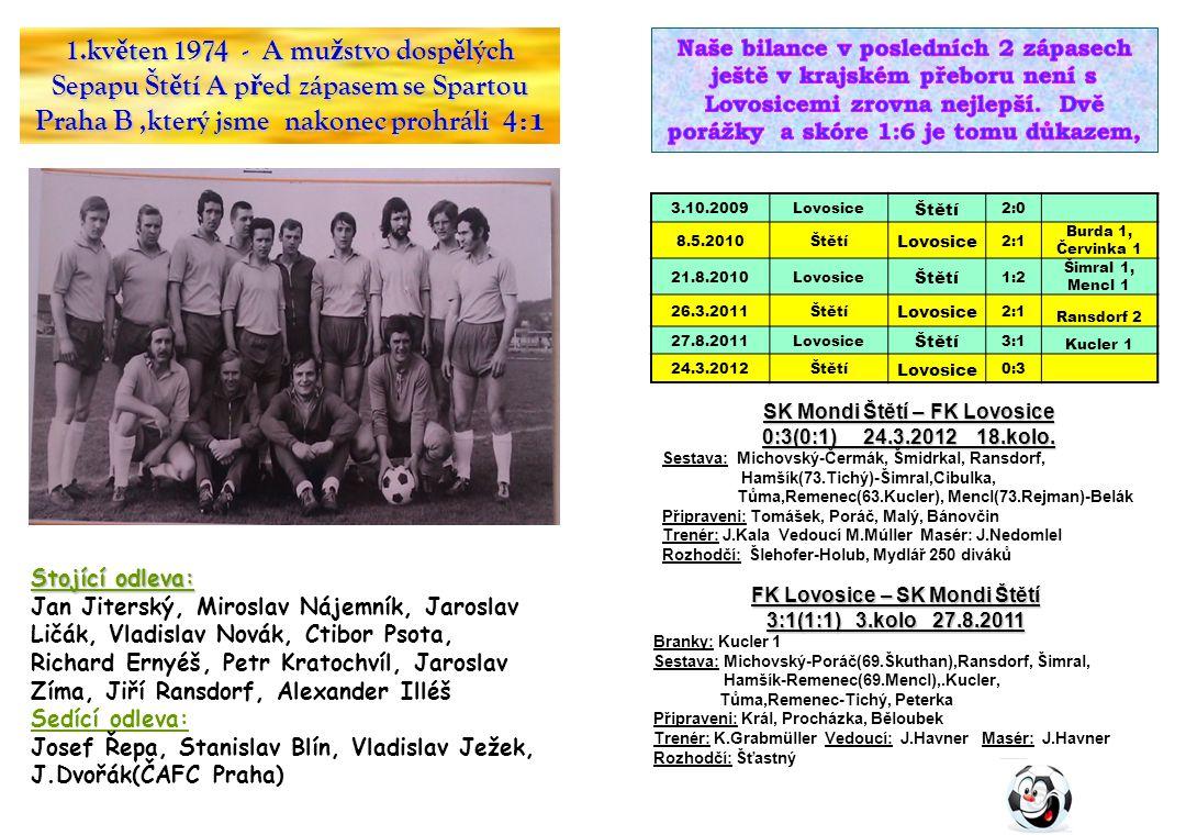 SK Mondi Štětí – FK Lovosice FK Lovosice – SK Mondi Štětí