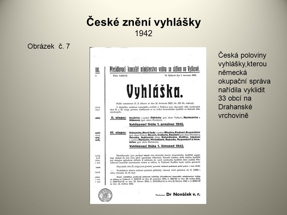 České znění vyhlášky 1942 Obrázek č. 7