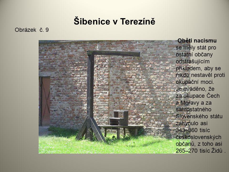 Šibenice v Terezíně Obrázek č. 9