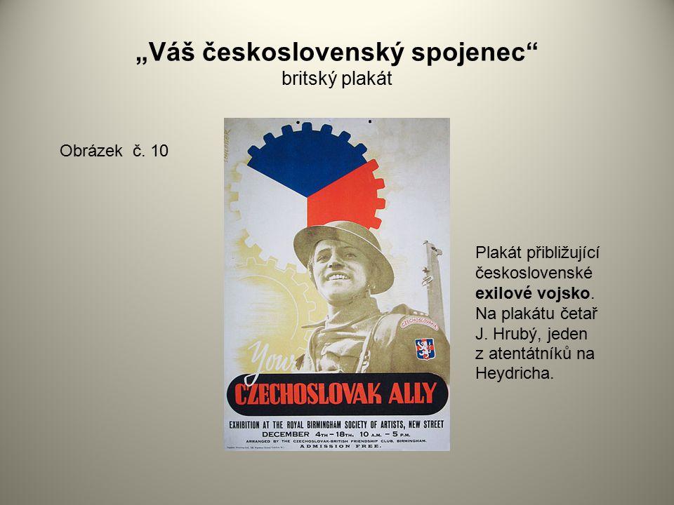 """""""Váš československý spojenec britský plakát"""