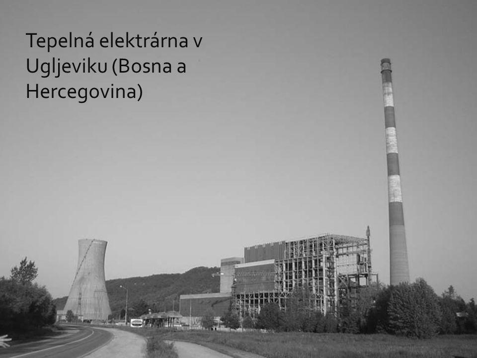 Tepelná elektrárna v Ugljeviku (Bosna a Hercegovina)