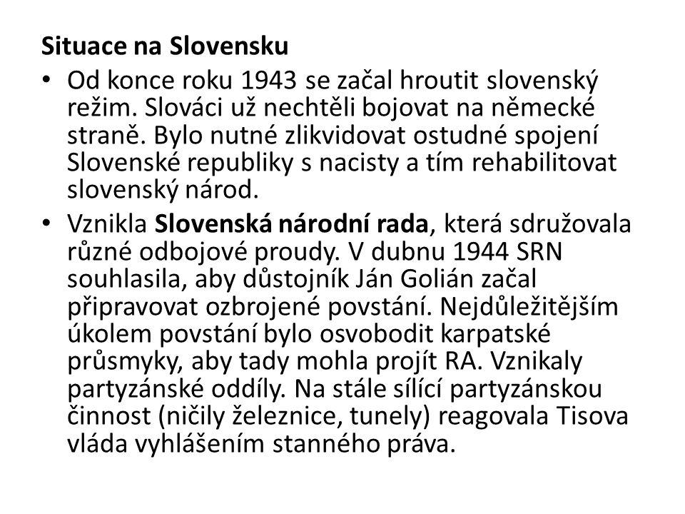Situace na Slovensku