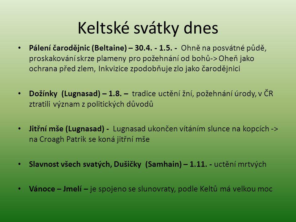 Keltské svátky dnes