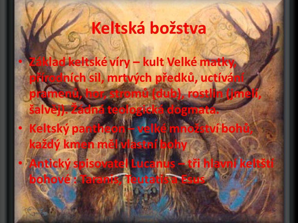 Keltská božstva
