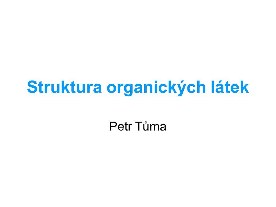 Struktura organických látek