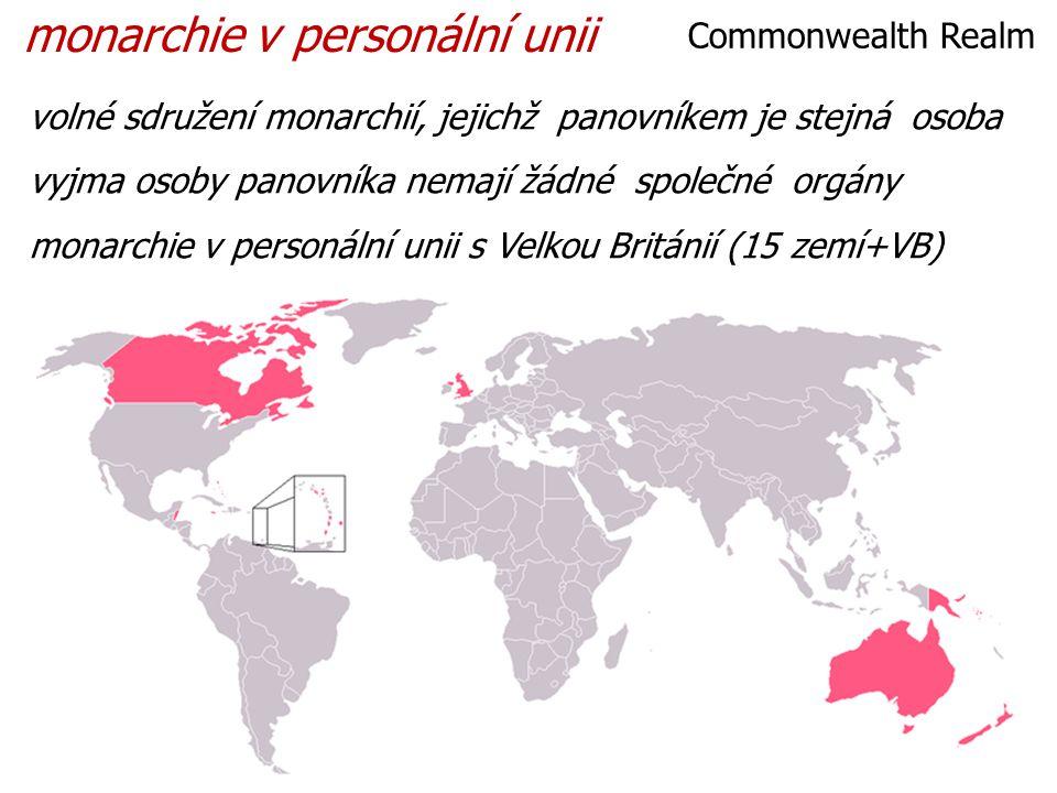 monarchie v personální unii