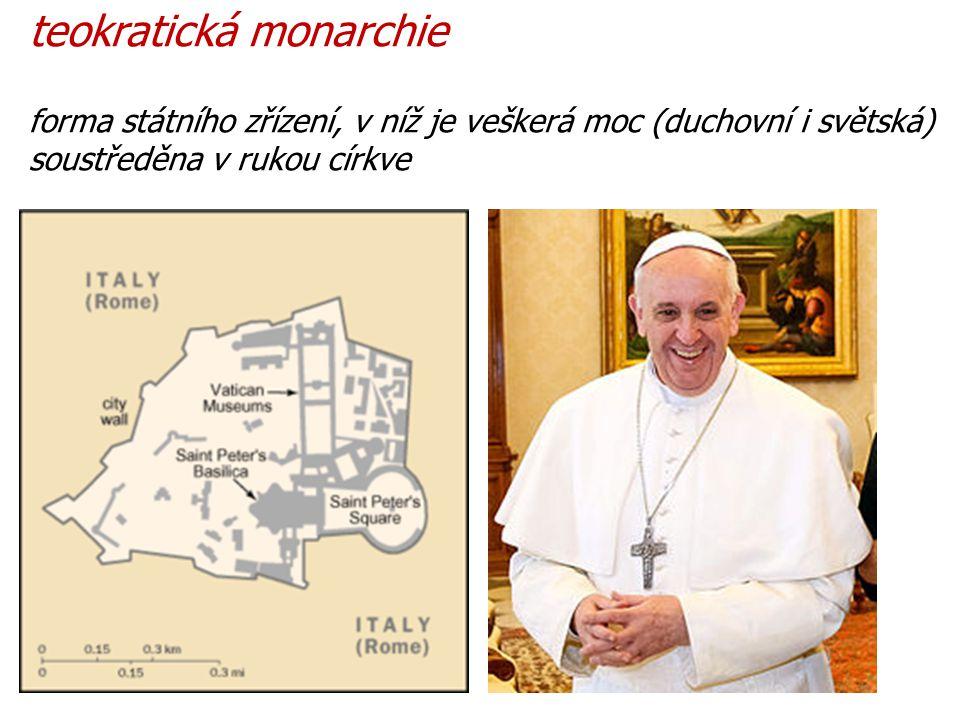 teokratická monarchie