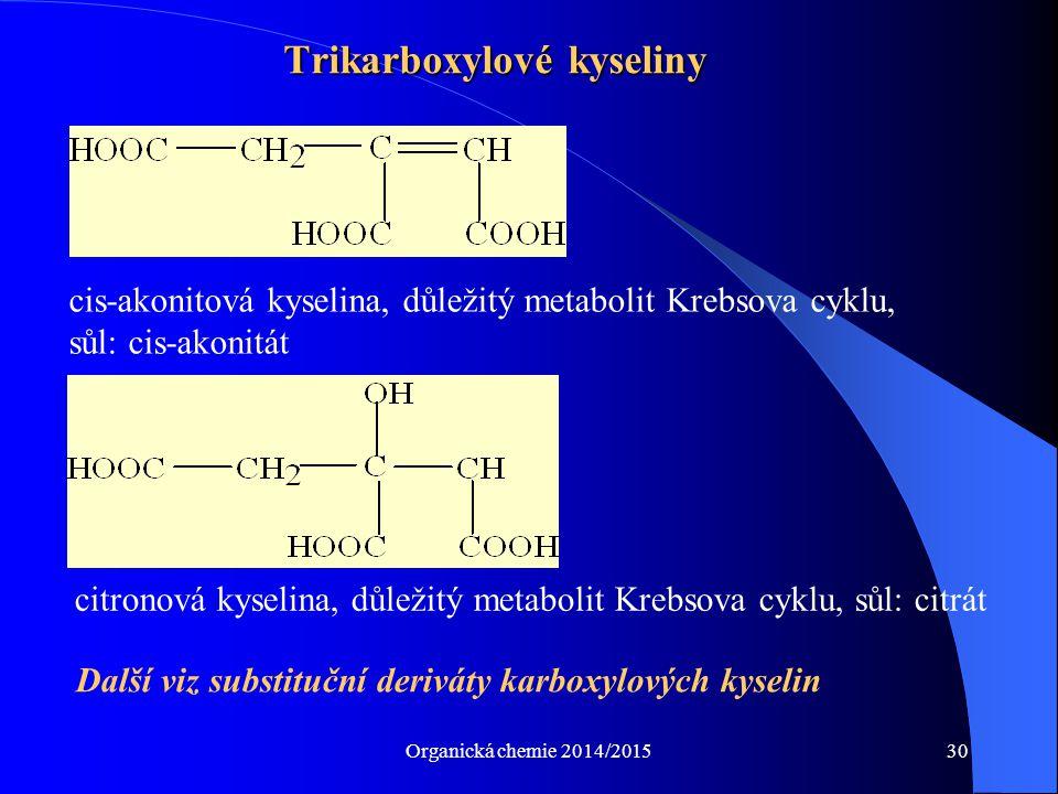 Trikarboxylové kyseliny
