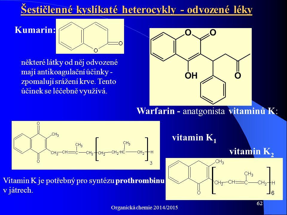 Šestičlenné kyslíkaté heterocykly - odvozené léky